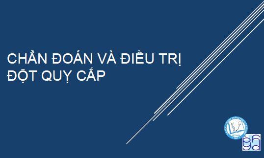 Chẩn Đoán Và Điều Trị Đột Quỵ Cấp 2018 – TS. BS. Nguyễn Bá Thắng
